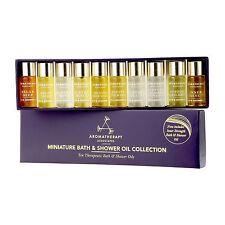 1 BOX 10 PCS Aromatherapy Associates Miniature Bath Shower Oil Collection Gift