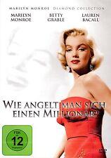 WIE ANGELT MAN SICH EINEN MILLIONÄR? (Marilyn Monroe, Lauren Bacall) NEU+OVP