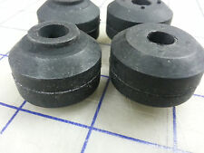 Pack Of 4 Rubber Shock Absorber Grommets A=1-1/4, B=3/8, C=15/16, D=1/2,