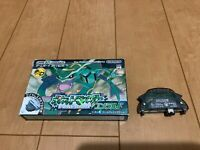 GameBoy Advance Pokemon Emerald GBA BOX and Manual with Wireless Adapter