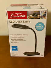 New Sunbeam Flexible Neck Led Desk Lamp - Adjustable Light [Energy Star]