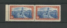 (W0798) MEXICO, INDIAN COURIER, MI 609, PAIR, MNH/UM, SEE SCAN