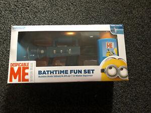 Minions Despicable Me Bathtime fun set
