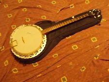 Vintage 1968 Framus 5 string Banjo Germany all original Exc w/Deering bag