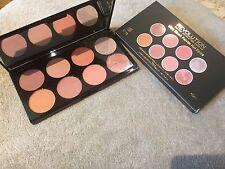 Makeup Revolution Hot Spice Ultra Blush and Contour Highlight Palette Blusher