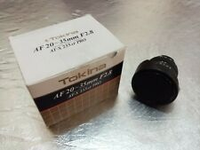 **Tokina AT-X PRO 20-35mm F2.8* for Nikon FULL FRAME EXC++