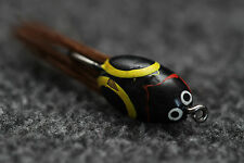 Old Vintage Fly Fishing Lure - Lur-All Beetle - Black Red Yellow - $1 Shipping!