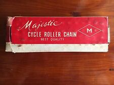 """Majestic Singlespeed Kette Roller Cycle Chain NOS 1/2""""x1/8"""" x 112"""