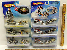 2003 Hot Wheels Lara Croft Tomb Raider + 2004 Shaman King Yoh Amidamaru Lot NOC
