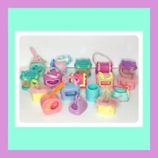 ❤️ Littlest Pet Shop Accessories LOT Of 17 Carriers  Beds Houses LPS ❤️