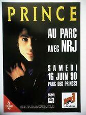 PUBLICITE-ADVERTISING :  PRINCE  1990 pour Concert Parc des Princes