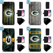 Green Bay Packers Leather Case For iPhone X Xs Max Xr 7 8 Plus Galaxy S9 S8
