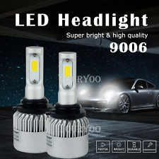 16000LM LED Headlight Kit HID White Light Low Beam Bulbs For 06-2012 Toyota RAV4