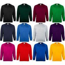 Hombre Maddins Coloursure? Color Cálido Jersey Sudadera Top (Tallas Pequeña a