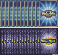 DIGIMON DIGI-BATTLE CARD GAME - STARTER DECK CARDS ONLY - 100 MIXED CARD LOT