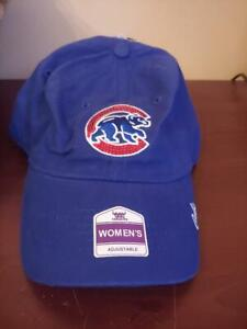 Women's Chicago Cubs Adjustable baseball cap hat brand Fan favorite