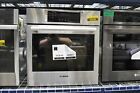 """Bosch HBN8451UC 27"""" Stainless Electric Single Wall Oven NOB #45908 photo"""