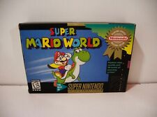 Super Mario World Nintendo Super NES SNES USA NTSC