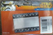 STAR WARS TABLECLOTH - Licenced Plastic table cover 1.8m x 1.3m Party accessory