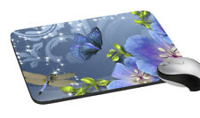 """Butterfly Mouse Pad Mousepat Mat For Macbook ASUS Dell Lenovo  7.2x8 """""""