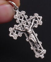 ARTSIAN CRUCIFIX CROSS JESUS 925 STERLING SOLID SILVER MENS WOMENS PENDANT