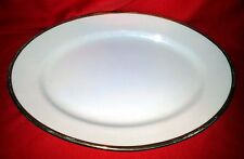 "J&C Bavaria - Jaeger & Co - Roman Bavaria China - Oval Serving Platter 9"" x 12"""