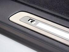 6 x VW R-line Stickers for Door Sills Golf GT Passat UP Volkswagen Emblem Logo
