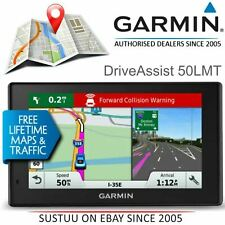 Garmin DriveAssist 50LMT GPS Sat Nav+Dash Cam│Free Lifetime Europe Maps+Traffic