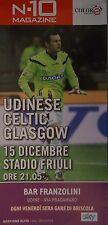 Programm UEFA EL 11/12 Udinese Calcio - Celtic FC