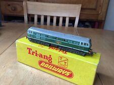 More details for triang tt gauge t.96 br green class 31 a1a diesel locomotive d5501 good runner