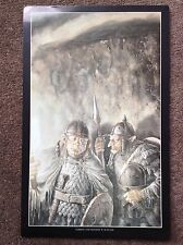 Lord Of The Rings PRINT Fantasy Art Alan Lee JRR Tolkien Vintage Gorbag Shagrat