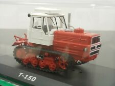 1:43 T-150 Tracked Farm Tractor, #122 Hachette Tractors Russia