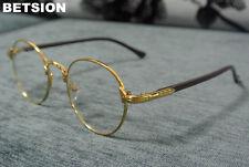 Reading Glasses Vintage Oval Metal Full Rim Men Women Retro Reader Eyewear +150