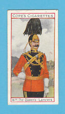 MILITARY  -  COPE  BROS.  -  RARE EMINENT BRITISH OFFICERS CARD NO.  7  -  1908