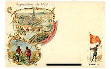 Paris France-EXPOSITION de 1900-SOMALIS-PROJET de M.M. CASSIEN-Postcard Expo