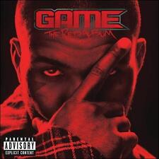 THE GAME The R.E.D. Album [PA] by Game (CD, Aug-2011, DGC) Chris Brown