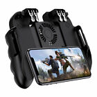 Mobile Game Controller Cooling Fan Trigger Controller Aim & Fire IOS and Android