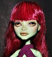 MONSTER HIGH Doll REPAINT OOAK CUSTOM Create-A-Monster Character Artist Unknown