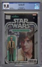 Star Wars #40 CGC 9.8 NM/MT Luke Skywalker Yavin Fatigues Action Figure Variant