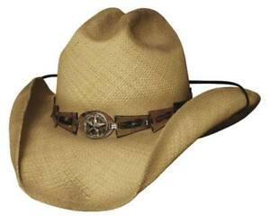 Bullhide Star Central Classic Straw Western Hat (2208