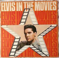 ELVIS PRESLEY,ELVIS IN THE MOVIES,VINTAGE LP 33 ALBUM,EXCELLENT CONDITION