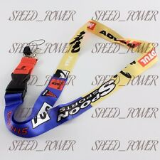 SPOON SPORTS 2 Sided Print Lanyard Keychain Neck Strap Quick Release JDM HONDA