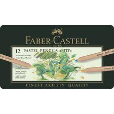 Faber-Castell Colour Pencil PITT Pastel Tin 12 Colours Professional