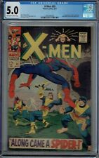 CGC 5.0 X-MEN #35 1ST APPEARANCE CHANGELING 967 OW/WHITE PAGES SPIDER-MAN APP