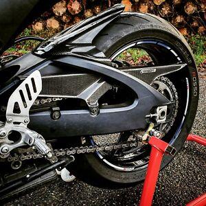 Yana Shiki HUGSGSXR60075011B Black ABS Plastic Rear Tire Hugger for Suzuki GSX-R 600//750