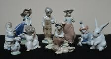 Lot of 10 Piece all Retired Lladro & Nao Collection No Boxes Spain Porcelain