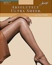 (2) Hanes Absolutely Ultra Sheer Control Top Sandalfoot Pantyhose F Natural 707