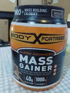Body Fortress Super Advanced Mass Gainer Chocolate 2.25 Pounds - S1