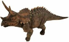 More details for jurassic triceratops dinosaur resin statue frost & fade resistant lawn ornament