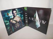 Custom Made Arrow Trading Card Album Binder